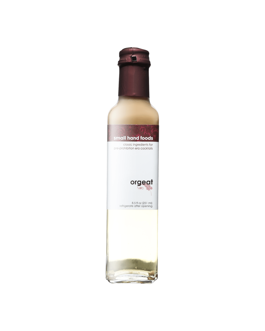 Small Hand Foods Orgeat Syrup 251ml Dan Murphys Buy Wine