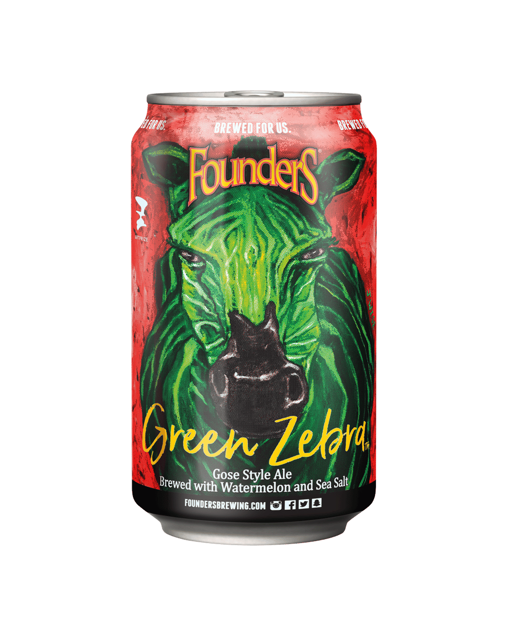 Buy Founder's Brewing Co Green Zebra Cans 355ml | Dan Murphy's