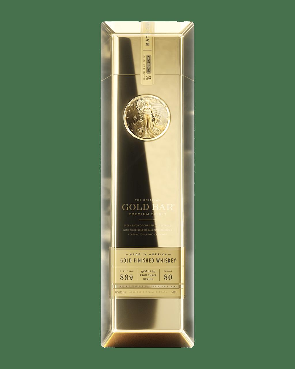 b33d97ef36e42 Gold Bar The Original Gold Bar Gold Finished Premium Spirit