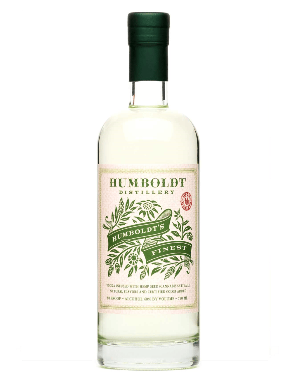 Buy Humboldt Finest Hemp Vodka 750mL | Dan Murphy's