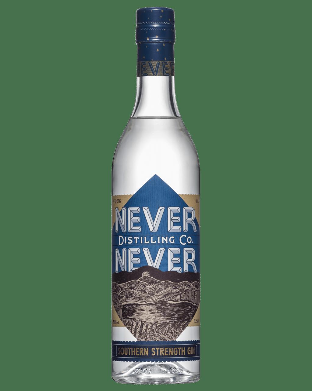 Buy Never Never Distilli Southern Strength Gin 500mL   Dan