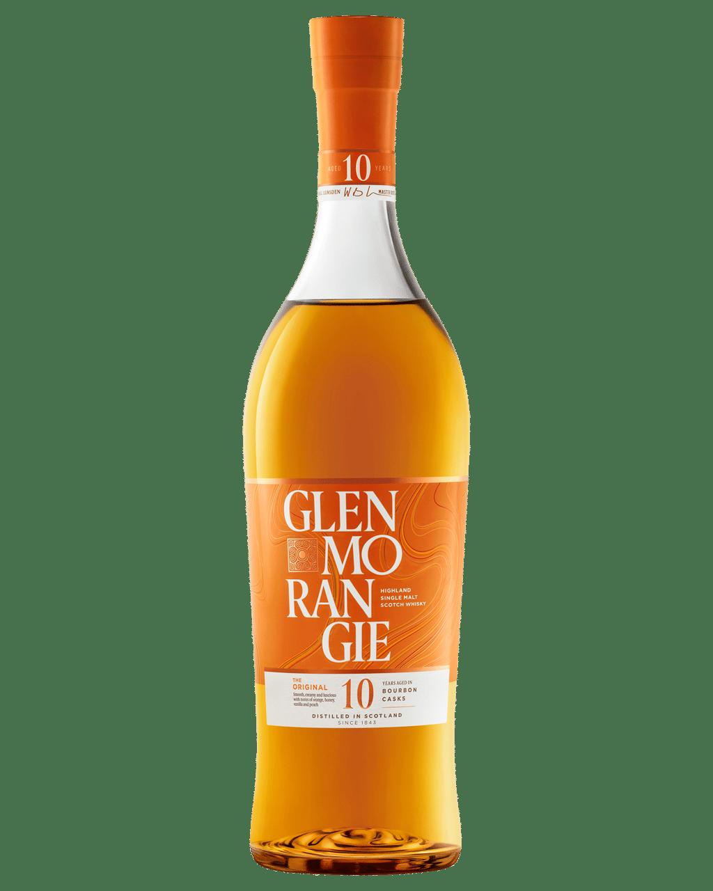 Buy Glenmorangie The Original Single Malt Scotch Whisky 10 Year Old 700mL | Dan Murphy's Delivers