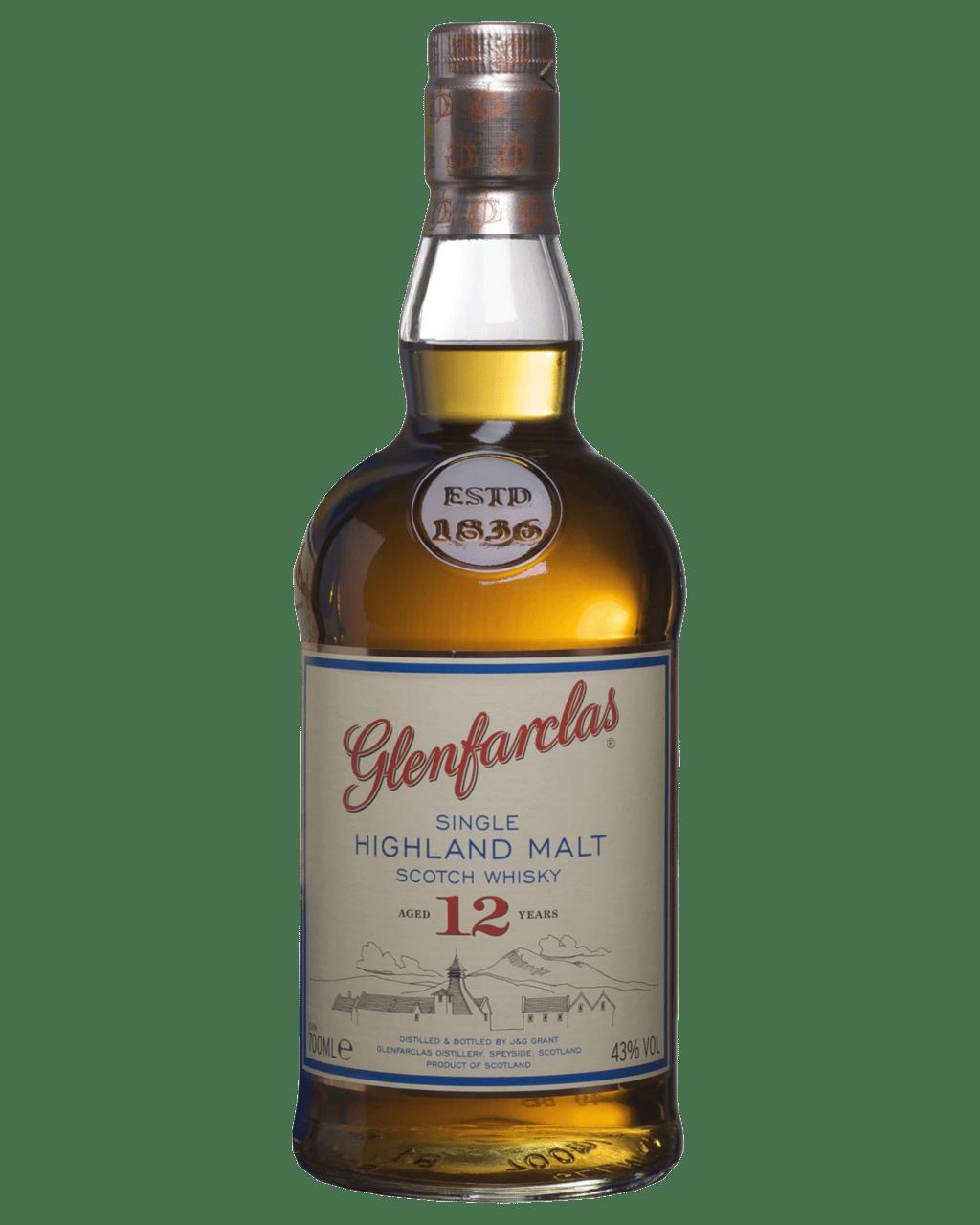 908d6bb74a1 Glenfarclas 12 Year Old Scotch Whisky 700mL