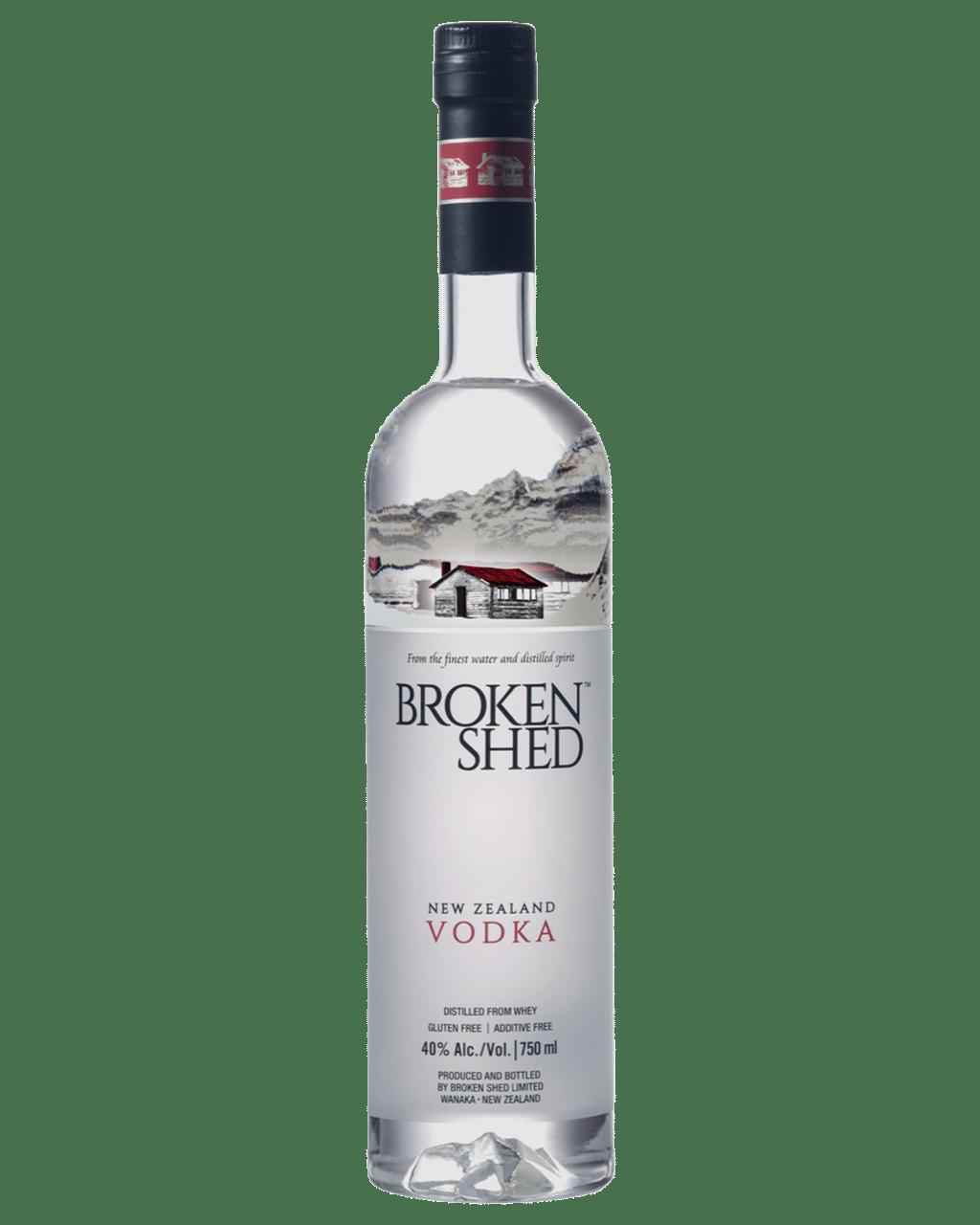 fcaab7d72 Broken Shed Premium New Zealand Vodka 750mL | Dan Murphy's | Buy ...