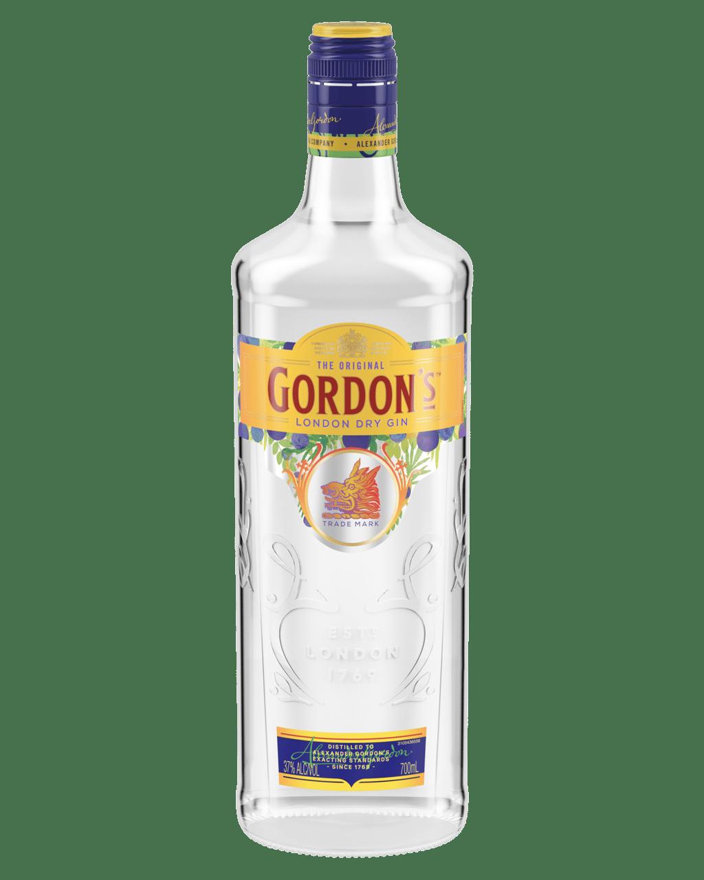 Buy Gordon S London Dry Gin 700ml Dan Murphy S Delivers