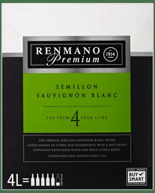 Renmano Premium Semillon Sauvignon Blanc Chardonnay Cask 4l Dan