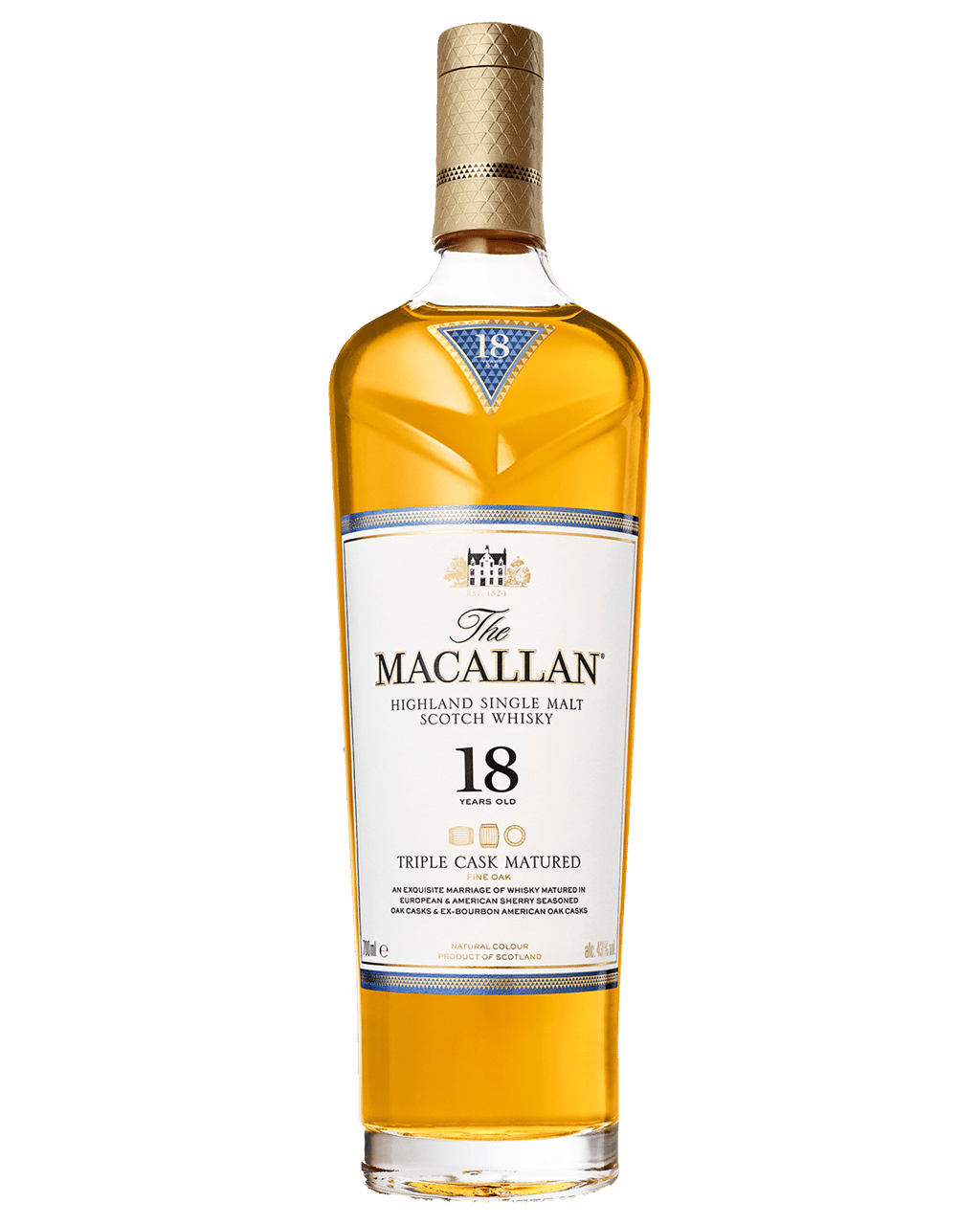f611c00c897 The Macallan 18 Year Old Scotch Whisky 700mL