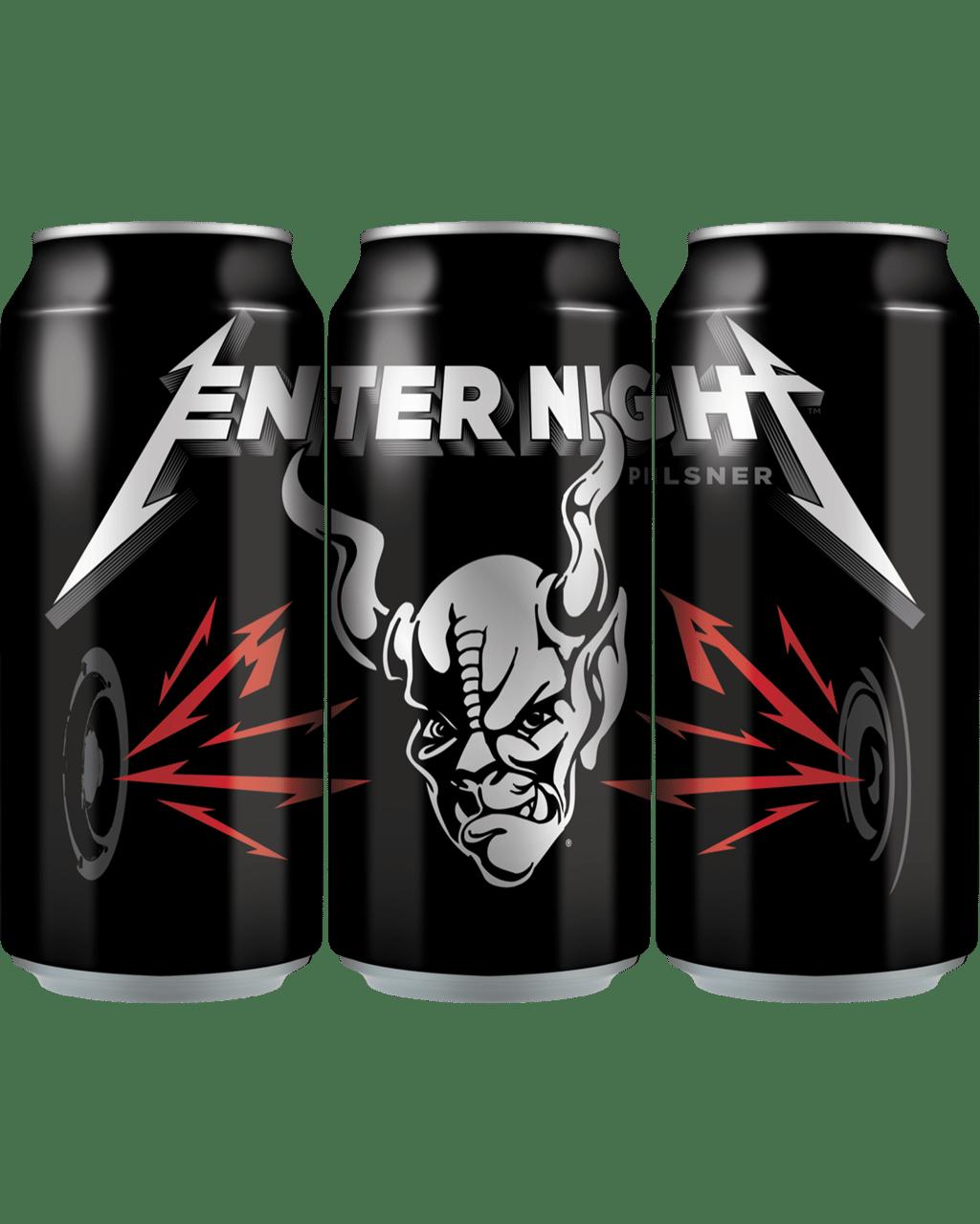 Buy Stone Metallica Enter Night Pilsner 473mL   Dan Murphy's
