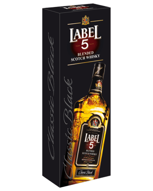 Buy Label 5 Classic Black Blended Scotch Whisky 700mL | Dan