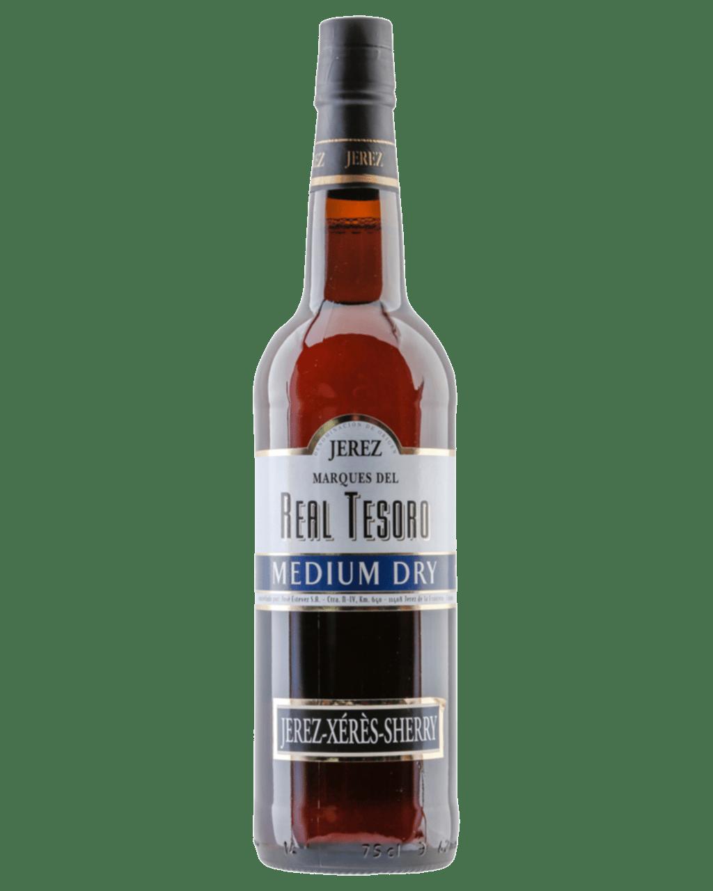 Jerez Real Tesoro Medium Dry Sherry Dan Murphys Buy Wine Palomino Tinela Handbag Mud Champagne Beer Spirits Online