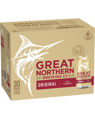 Buy Great Northern Brewing Company Original Lager Cans 30