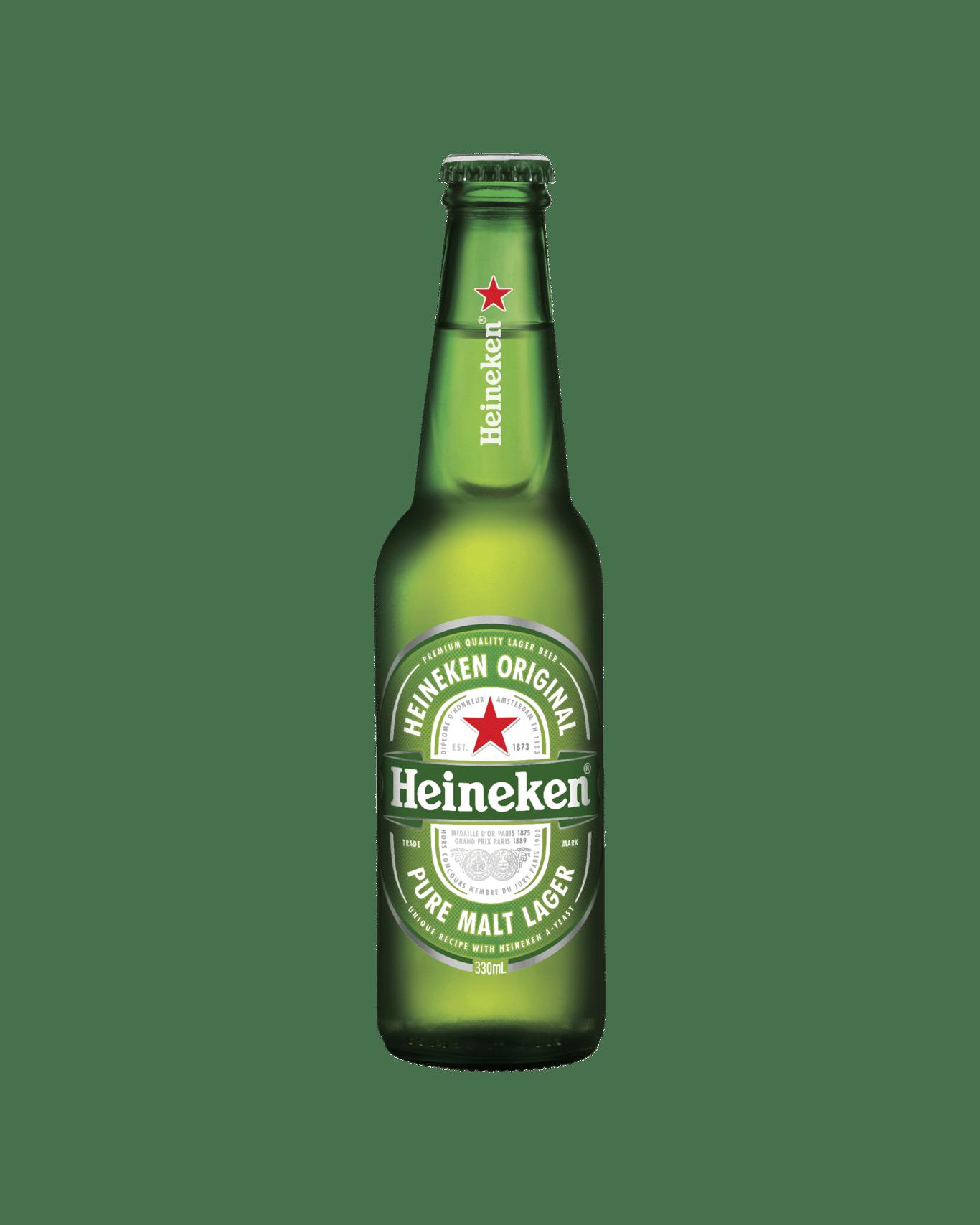 a64622fed93bc Heineken Lager Bottles 330mL