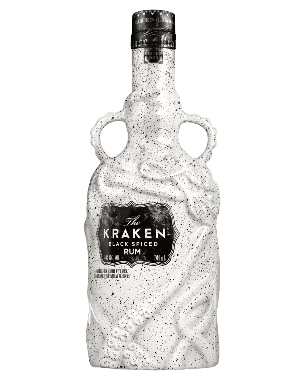 The Kraken Limited Edition Ceramic Black Spiced Rum 700mL  82b7e3ff47