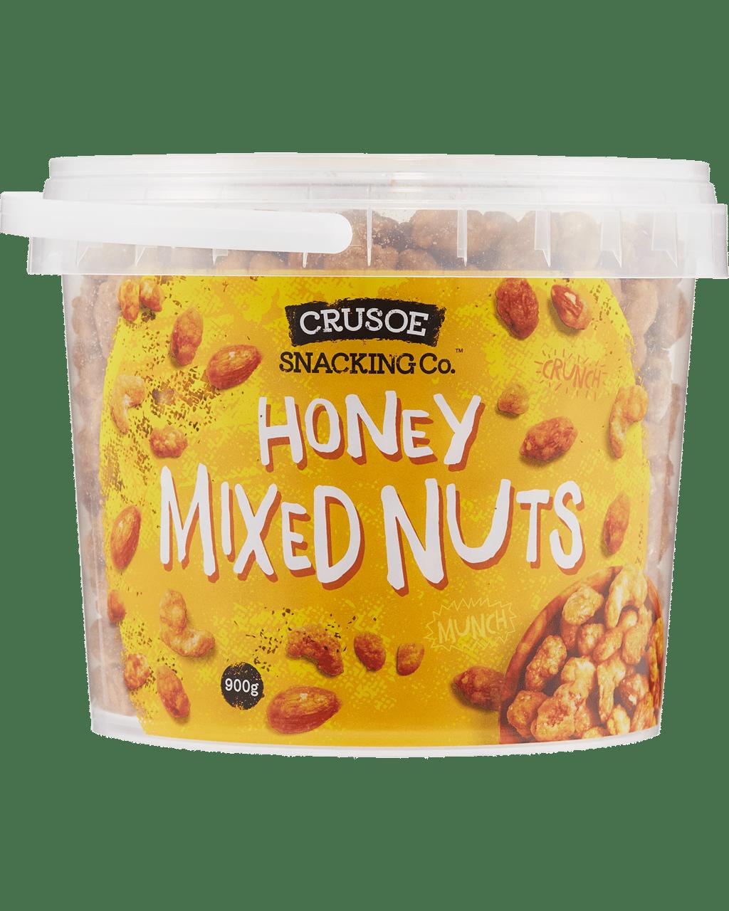 6b2fab234f6b Crusoe Snacking Co. Honey Mixed Nuts 900g