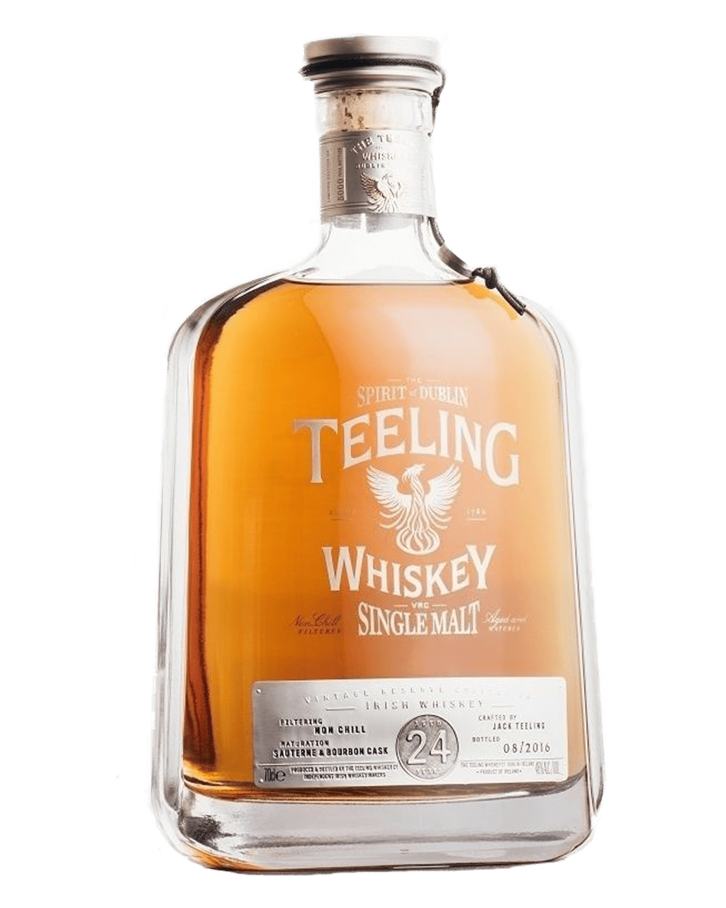 6a63c208c7 Teeling 24 Year Old Single Malt Irish Whiskey 700mL