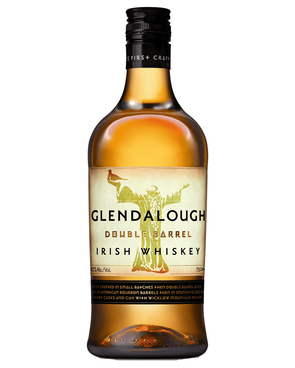 5169bad173 Glendalough Double Barrel Single Grain Whiskey 700mL