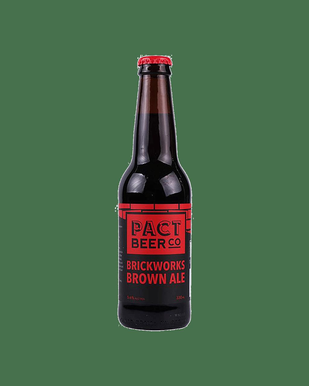 Buy Pact Beer Co Brickworks Brown Ale 330mL | Dan Murphy's