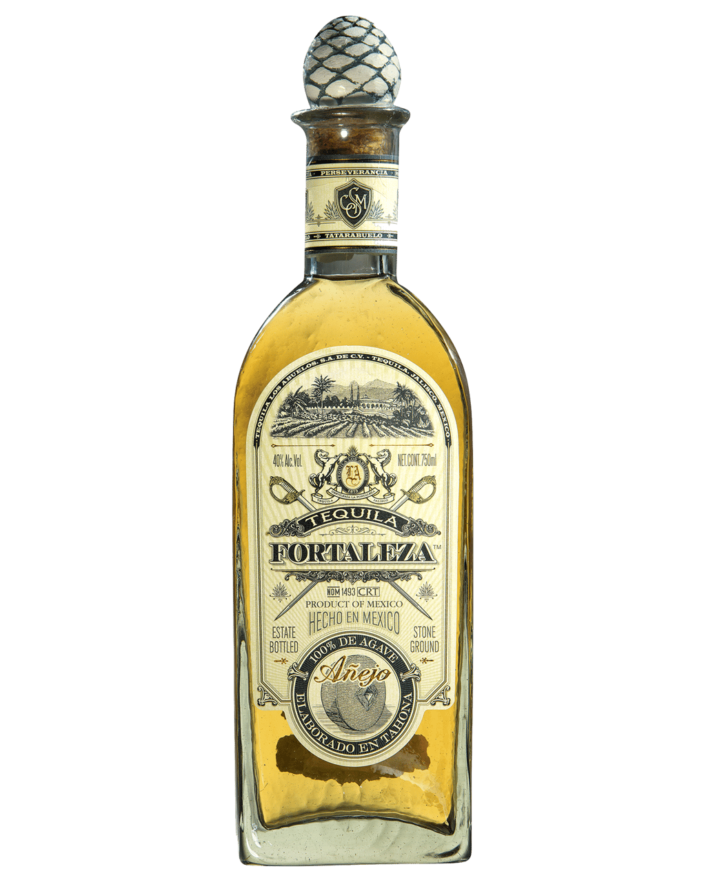 a6c990bc19d17 Tequila Fortaleza Anejo 750mL