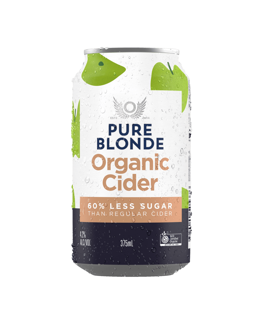 Buy Pure Blonde Organic Apple Cider 375mL Cans | Dan Murphy's