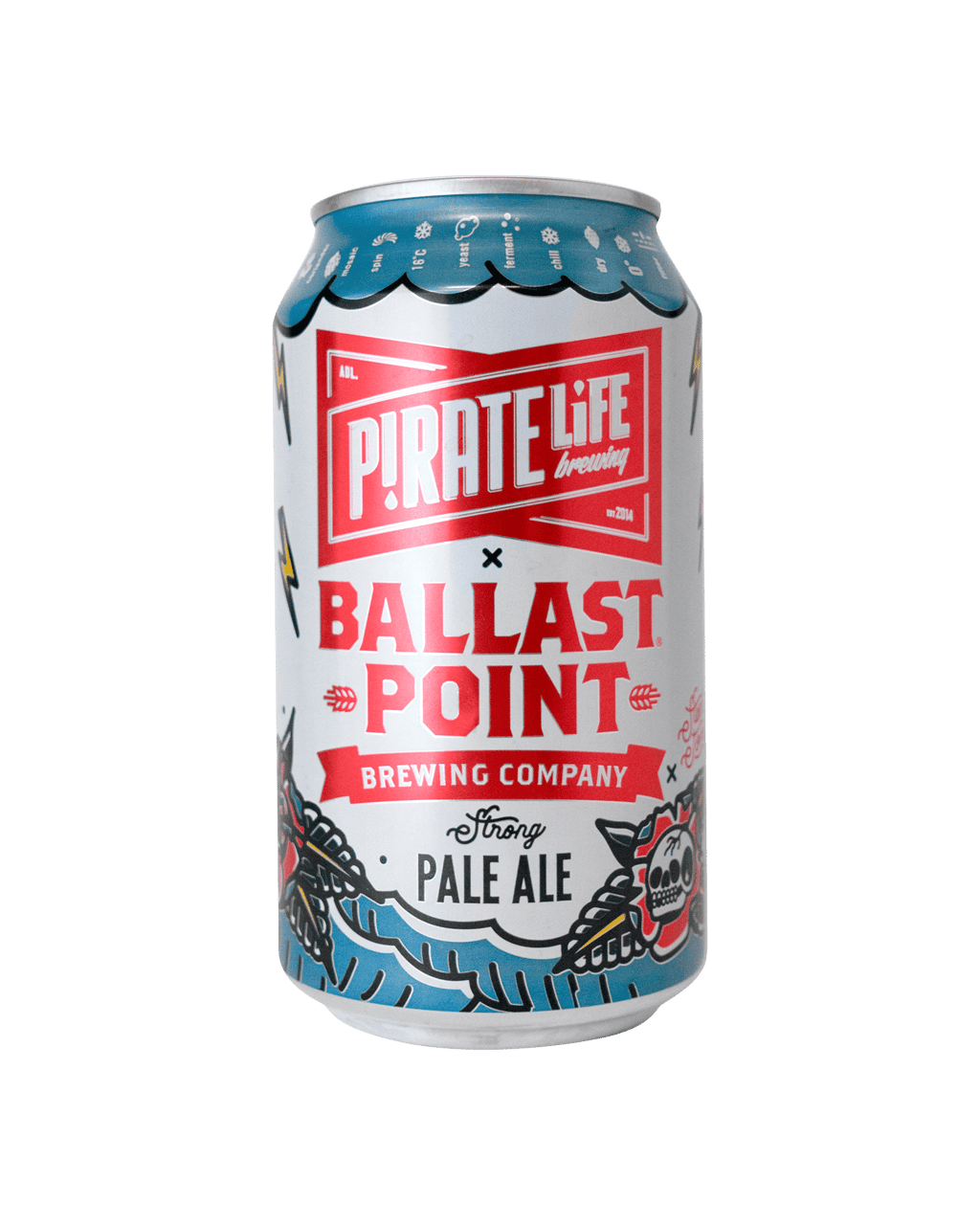 e2e50c77b8a Pirate Life Brewing X Ballast Point Strong Pale Ale Cans 355mL