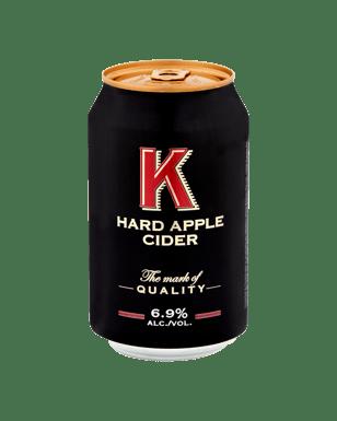 Buy K Hard Apple Cider Cans 330 mL | Dan Murphy's