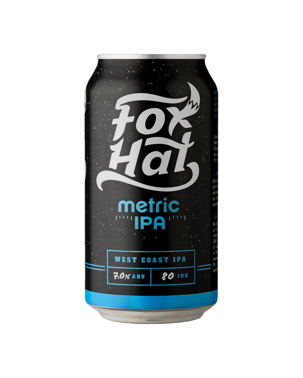 b0509142a8984 Fox Hat Metric IPA Cans 375mL