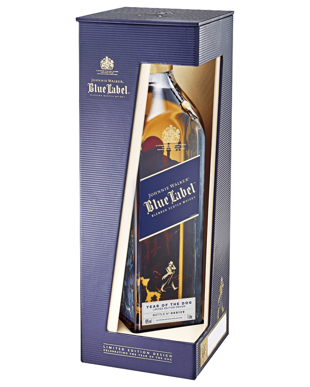 867ffdf9221d Johnnie Walker Blue Label Zodiac Year of the Dog Scotch Whisky 750mL ...