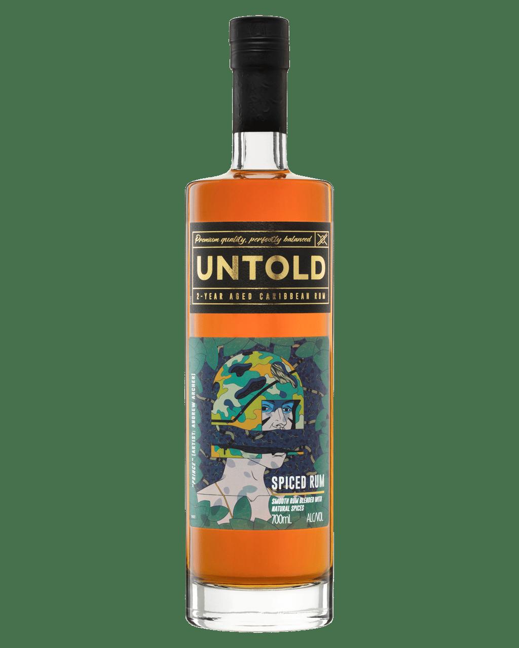 Buy Untold Caribbean Rum 700mL   Dan Murphy's