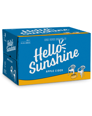 e86360e213a98 Hello Sunshine Apple Cider Bottles 330mL