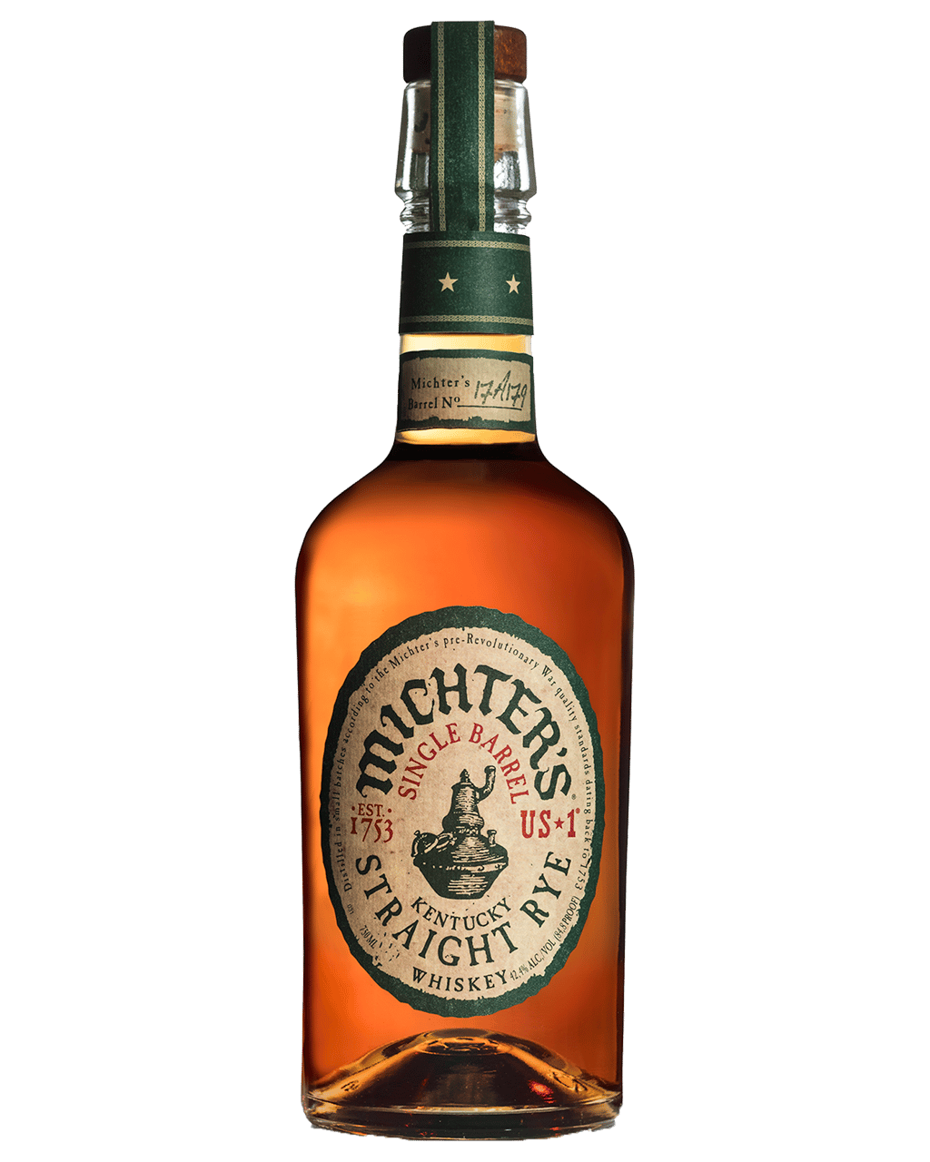 6f7260197ad Michter s Toasted Barrel Strength Straight Rye Whiskey 700mL