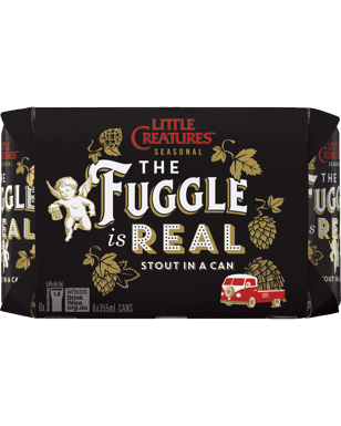 Little Creatures The Fuggle Is Real Stout Cans 355mL  0a9aec6b654b