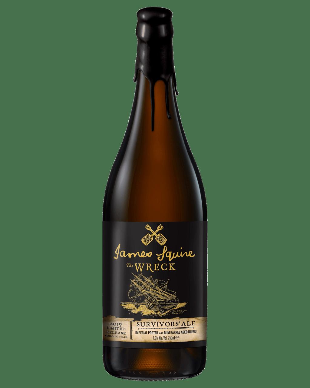 Buy James Squire The Wreck Survivors Ale 750mL | Dan Murphy's