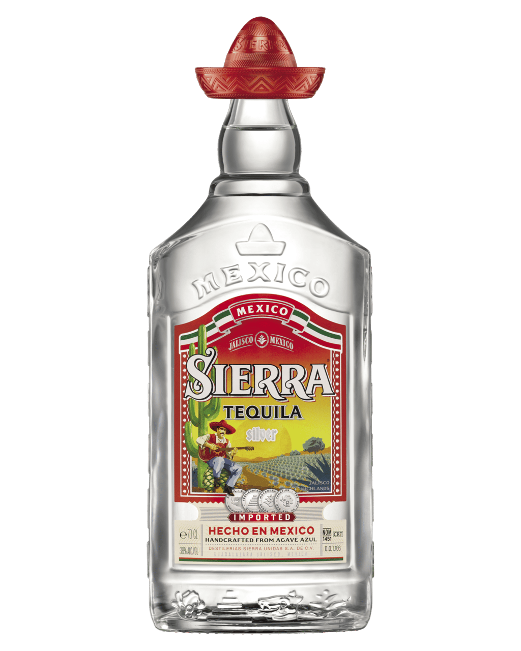 Buy Sierra Tequila Silver 700ml Dan Murphy S Delivers