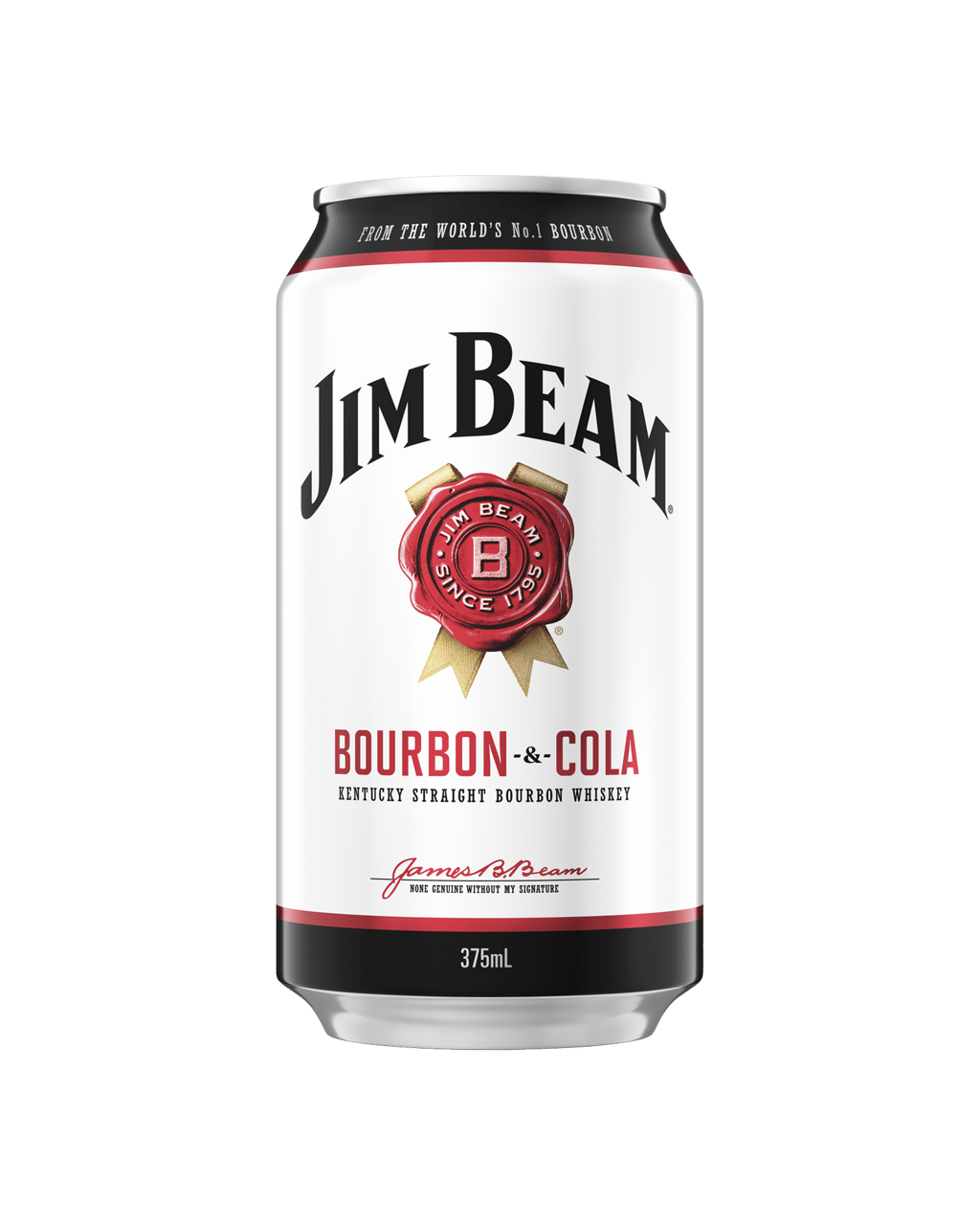 Buy Jim Beam White Label Bourbon & Cola Cans 375mL | Dan