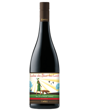 db778c34ee6 Fowles Wine Ladies Who Shoot Their Lunch Shiraz