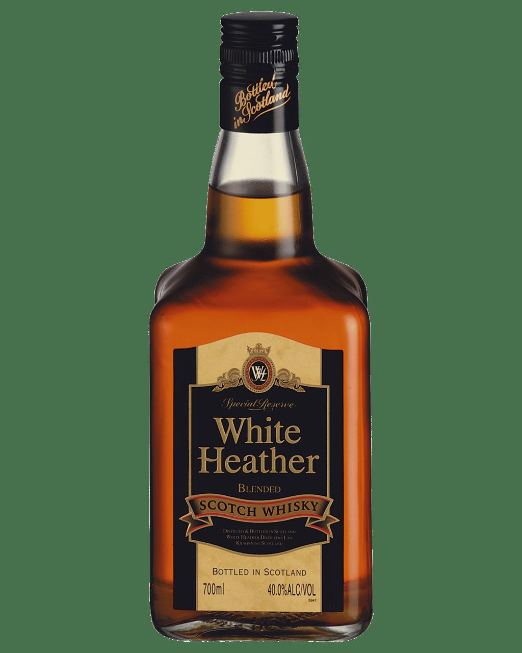 Buy White Heather Scotch Whisky 700mL   Dan Murphy's