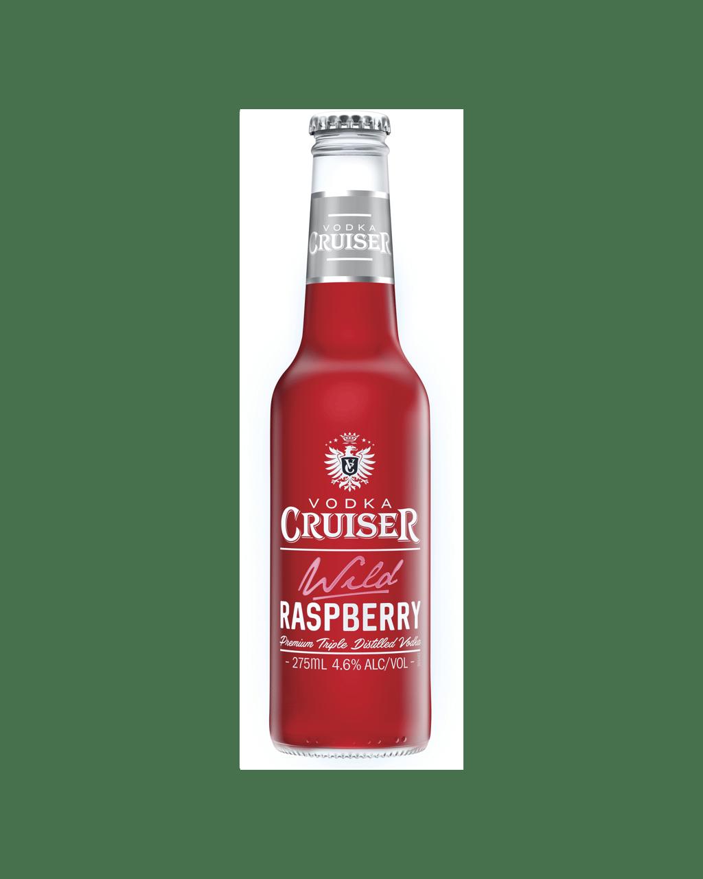 Buy Vodka Cruiser Wild Raspberry 275mL | Dan Murphy's