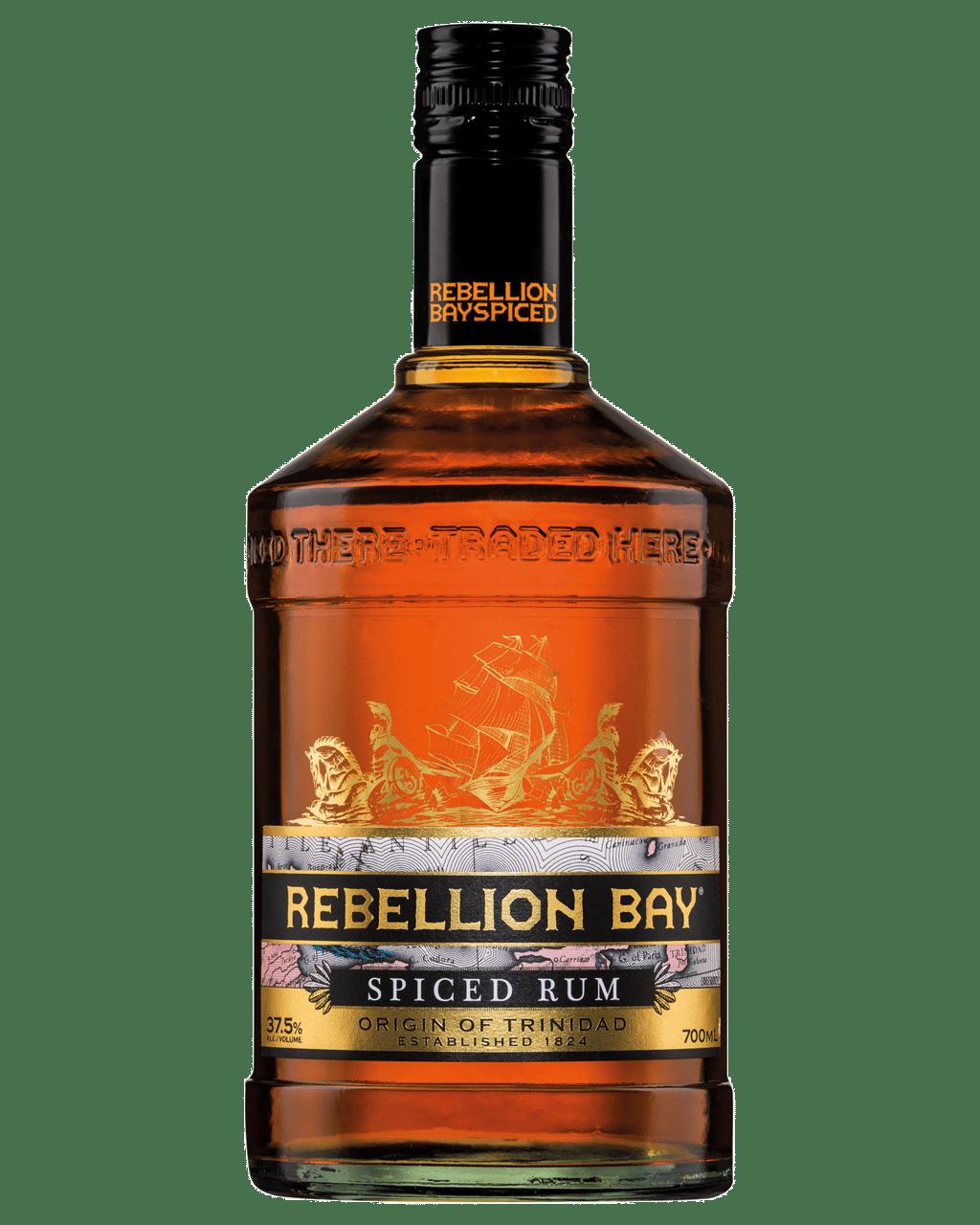 rebellion bay spiced rum 700ml dan murphy s buy wine champagne
