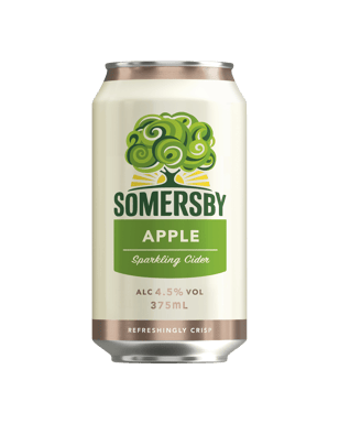 Buy Somersby Apple Cider Cans 10 Pack 375mL | Dan Murphy's