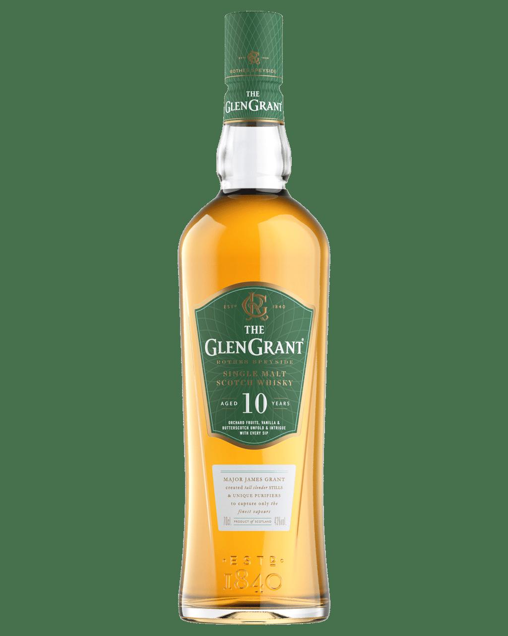 a6db1cdee5c2 Buy Glen Grant 10 Year Old Scotch Whisky 700mL   Dan Murphy's