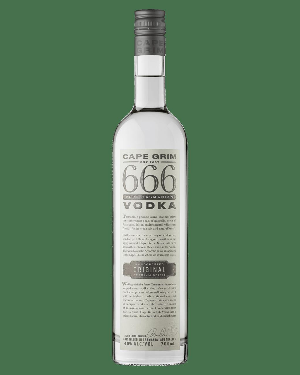 Buy Cape Grim 666 Original Vodka 700mL | Dan Murphy's