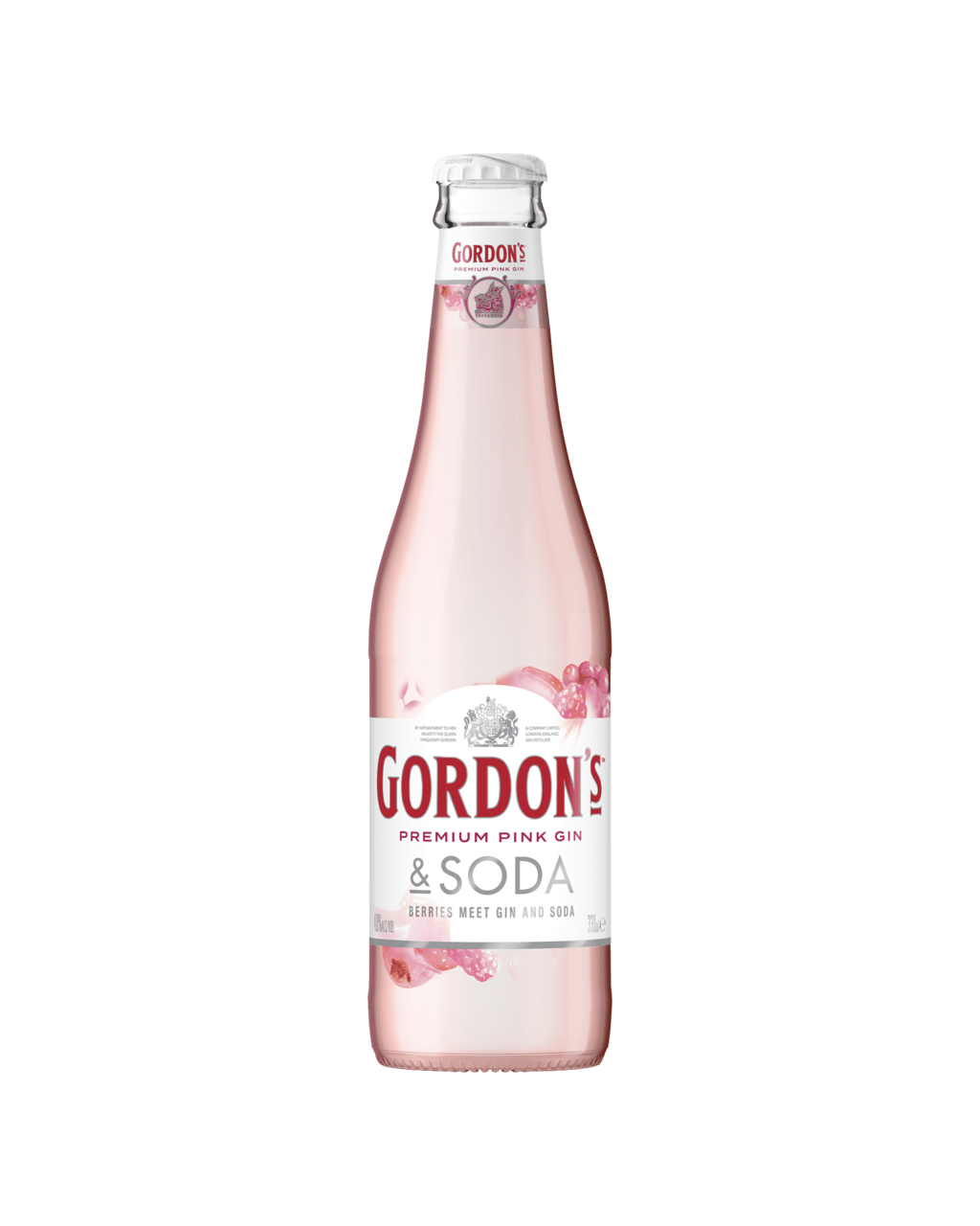 7343429aab7a2 Gordon s Pink Gin   Soda Bottles 330mL