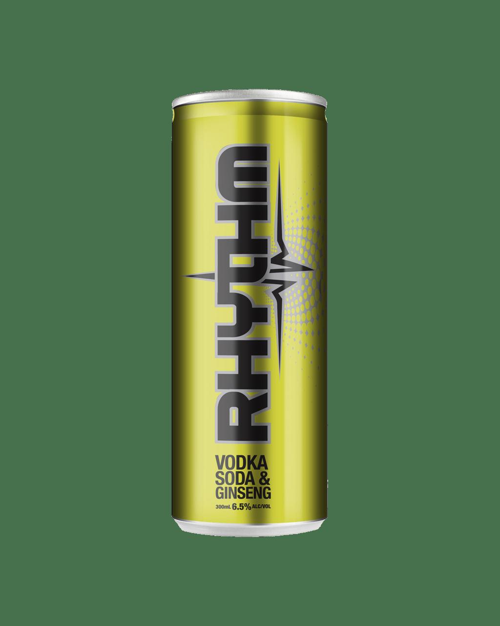 63db968468f8 Rhythm Vodka Soda   Ginseng 300mL
