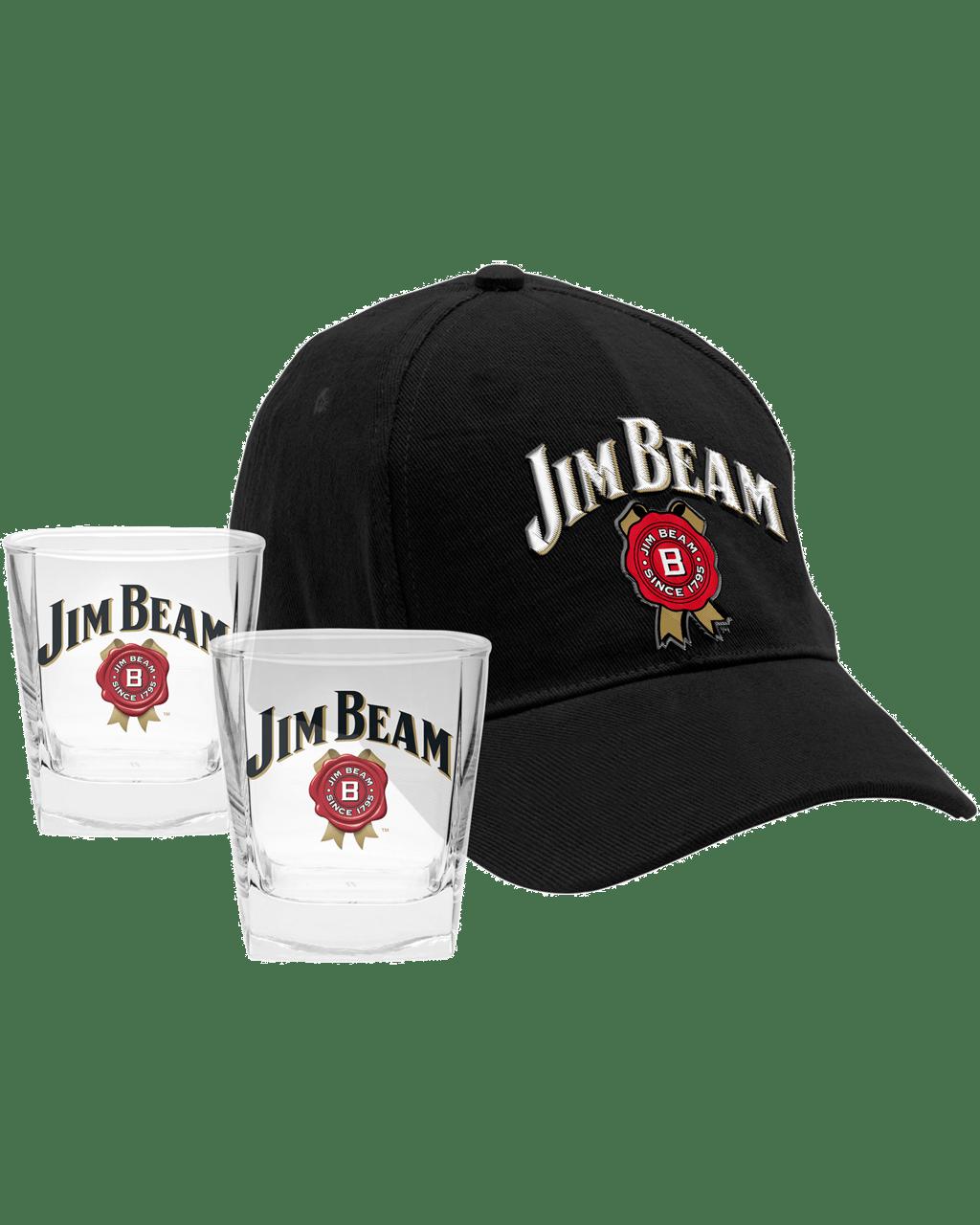 f0615c917c915 Jim Beam Cap and Glass Pack
