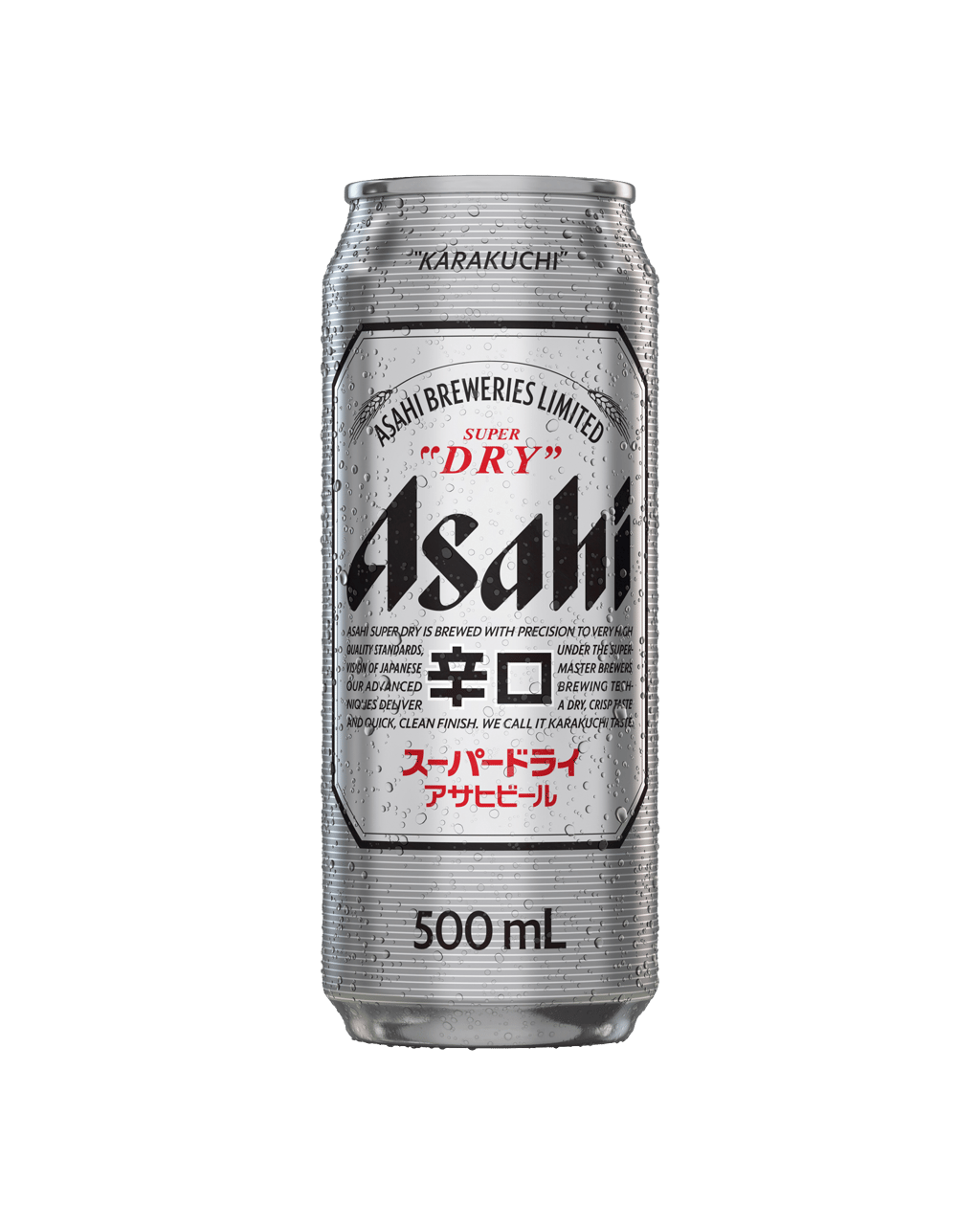 Buy Asahi Super Dry Cans 500mL | Dan Murphy's Delivers