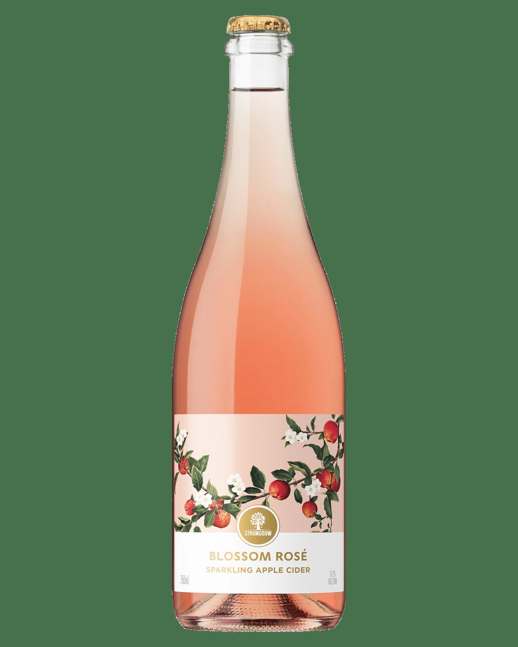 Buy Strongbow Blossom Rosé Sparkling Apple Cider 750mL   Dan