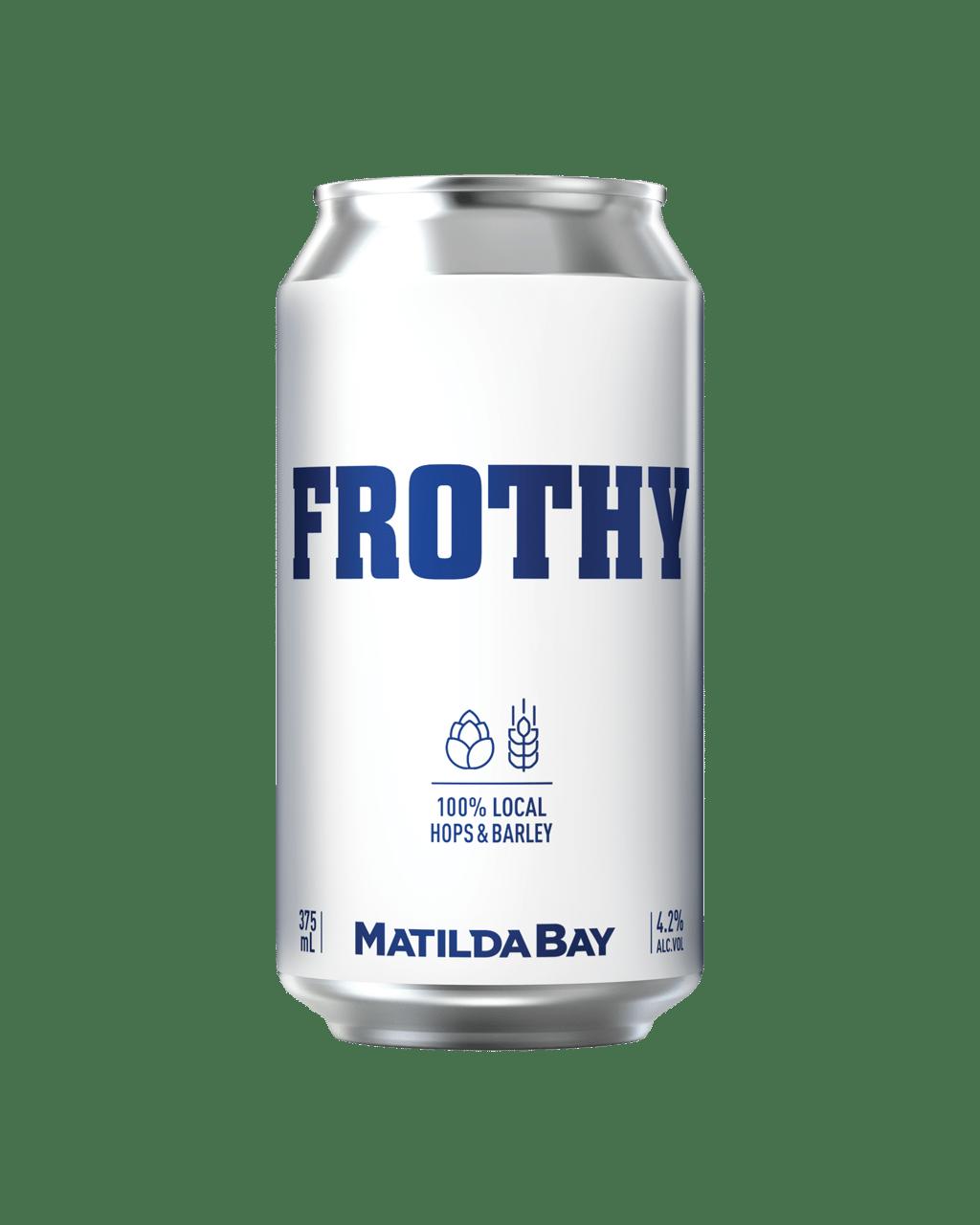 best service 5a256 d4245 Buy Matilda Bay Frothy Cans 375mL | Dan Murphy's