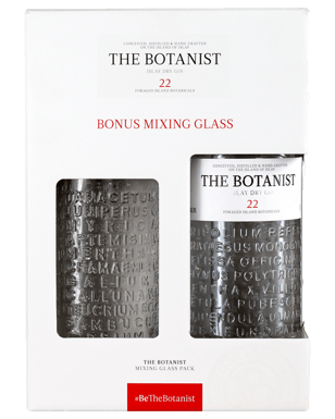 Buy The Botanist Mixing Glass Gift Pack 700mL | Dan Murphy's
