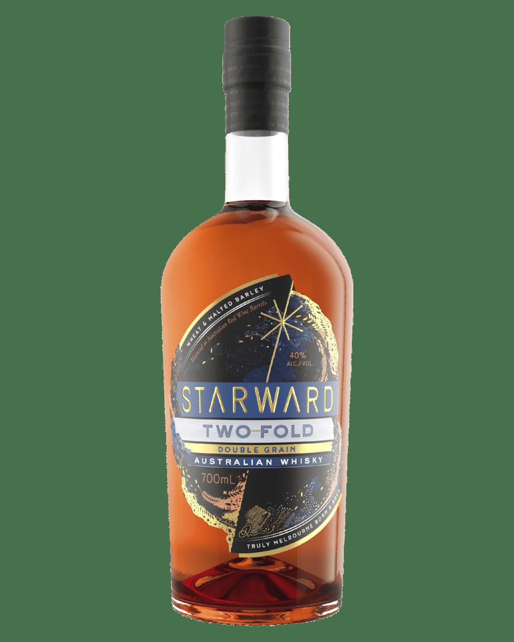 Buy Starward Two-Fold Double Grain Australian Whisky 700mL Online (Lowest prices in Australia) | Dan Murphy's