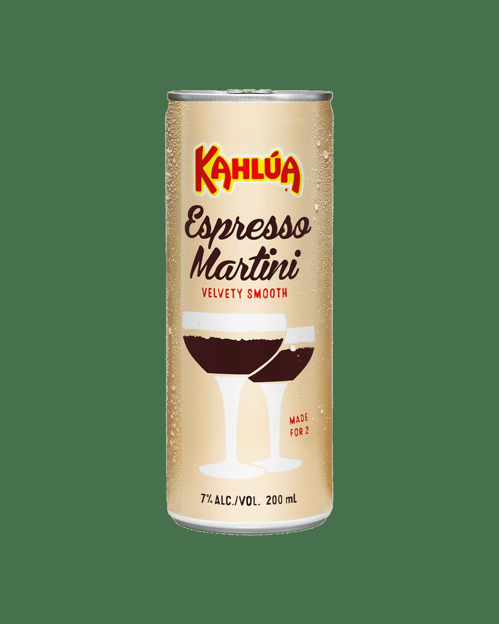 Buy Kahlua Espresso Martini 200ml Dan Murphy S Delivers